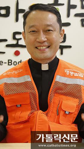 서울대교구 '명동밥집' 운영 맡은 김정환 신부